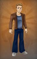 Mild Mannered Jeff by gabfury