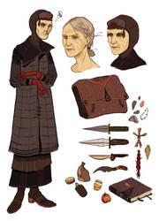 Abernathy character sheet by emilikarm