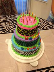 my b-day cake by blackhetalia99