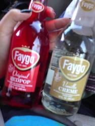 My first Faygo's by blackhetalia99