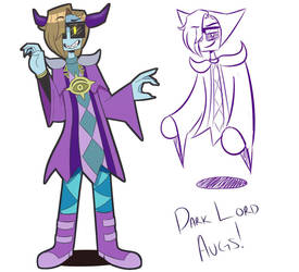 Third Character Design of Dark Lord Augs! by Your-A-Nugget