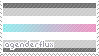 Agenderflux Stamp by sunbirds