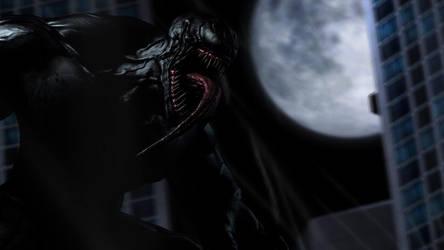 [SFM] Venom in the city by NightmareSonic1