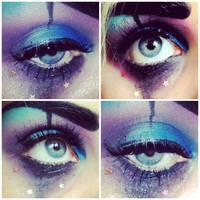 Clown Eye Make-up by KikiMJ
