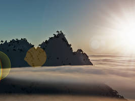 Above the Clouds Stock 2 by matthewvogel1234