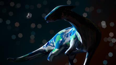 Dino Earth Wallpaper by wwwiop