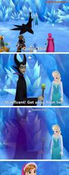 Kingdom Hearts 3 Frozen world (my dream) by Keyblade-Assassin