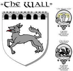 Heraldry, 'The Wall' by Designers-Guild