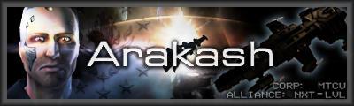 EvE-Online - Sig, 'Arakash' by Designers-Guild
