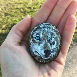 Wolf Rock by PMSingTiger