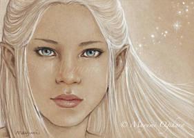 Elven Light - Sketch by MayumiOgihara