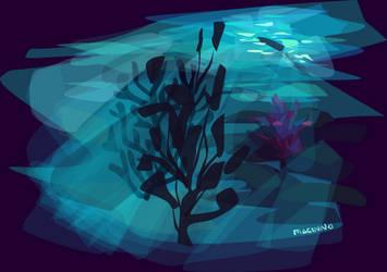 ocean colour practice by mocinno