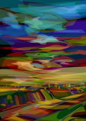 landscape by mocinno