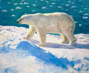 Polar Bear by mocinno