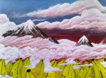 Banana Mountains by CWMimms