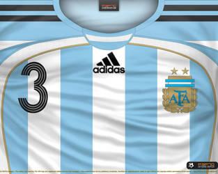 97766ff5c P3P70 3 1 Argentina home shirt 2006 by P3P70