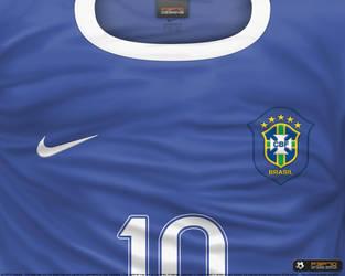 197966b40 P3P70 2 2 Brasil away shirt 2006 by P3P70