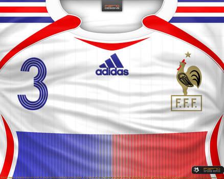 e140c591b France away shirt 2006 by P3P70