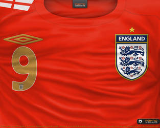 f0a12de2e P3P70 5 0 England away shirt 2006 by P3P70