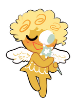 an angel by spacescoob