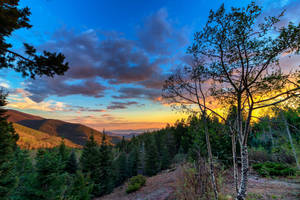 Sunset on the Pecos Wilderness by DeTea