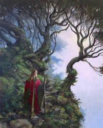 Red Robe by postapocalypsia
