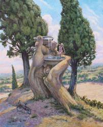 Bath of Venus by postapocalypsia