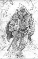 Hiker by postapocalypsia