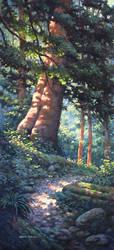 Forest giant by postapocalypsia