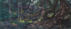 Dark Forest by postapocalypsia