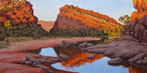 Walker Gorge by postapocalypsia