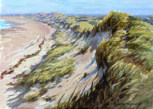 Sand-dune by postapocalypsia