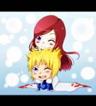 Kushina and Minato by YukiHyo