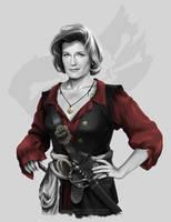 Mirror Universe Pirate Janeway by G672