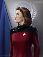 Captain Janeway by G672
