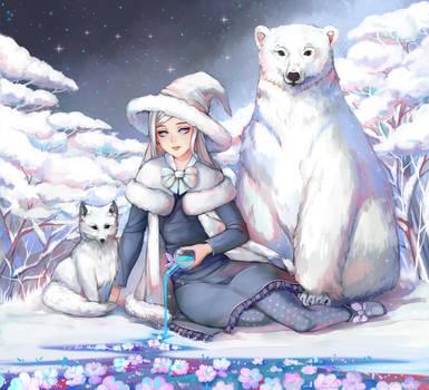 Snow by Harumagai