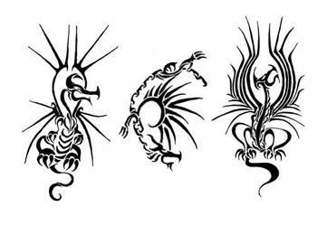 SunDragons by methodofchaos