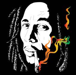 Bob Marley by O4x4ca
