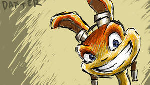 Daxter PSP Wallpaper by SpiffyOfCrud