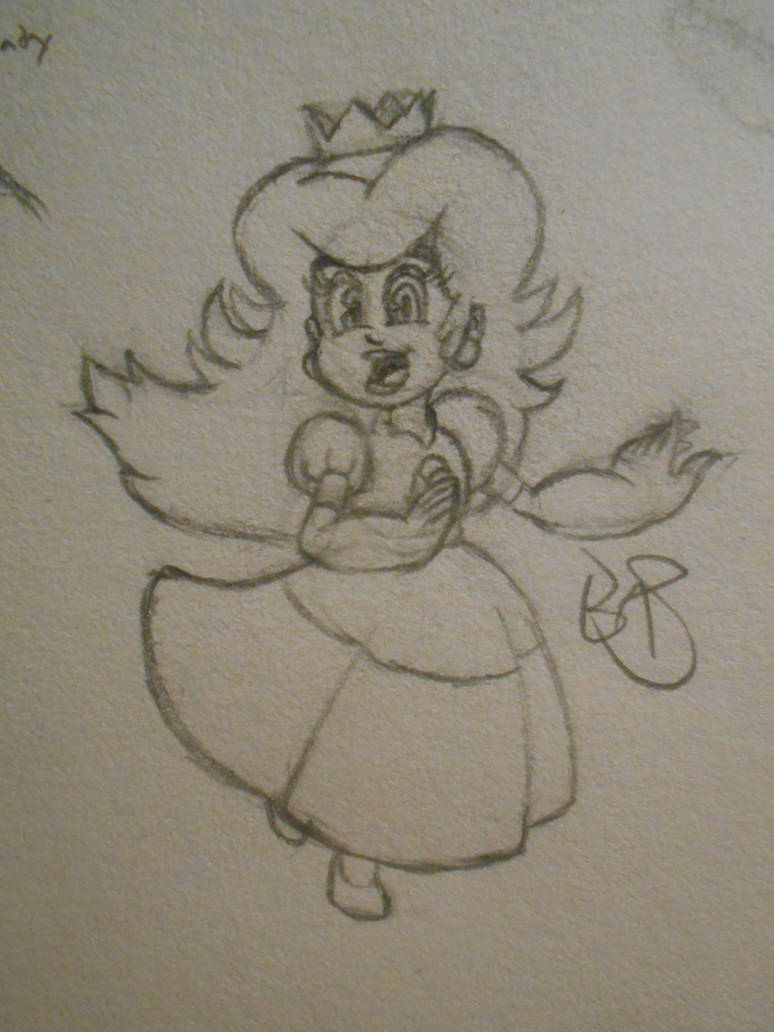 Peach/Princess Toadstool by BAS229