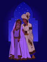 Agrabah Wedding by Wickfield