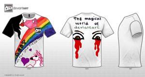 T-Shirt Design by MeredyxD