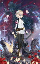 Love Nikki Charaoutfit 287 -Other Face- by MoonAngelAlicia1995