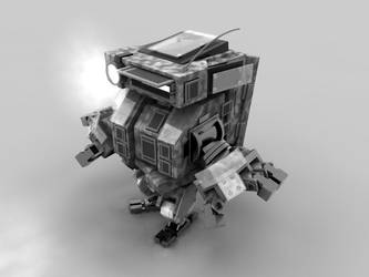Squarey Robot by TheAnimator0