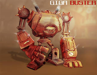 Giga Buster by TronixGFX