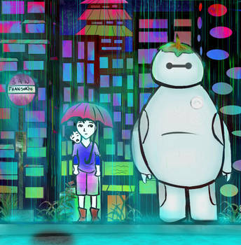 Collaboration: My Neighbor Baymax by Ombrifuge