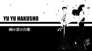 Yu Yu Hakusho - Yusuke and Kurama by Gini-Gini