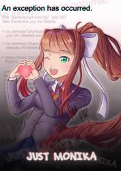 Just Monika by Gini-Gini