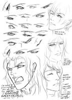 sketchy eyes by Silent-Neutral