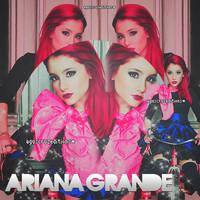 Blend Ariana Grande.- by AgustinaCruz